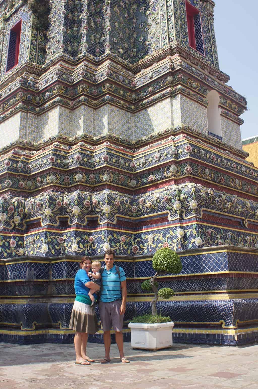 Wat Arun met kind