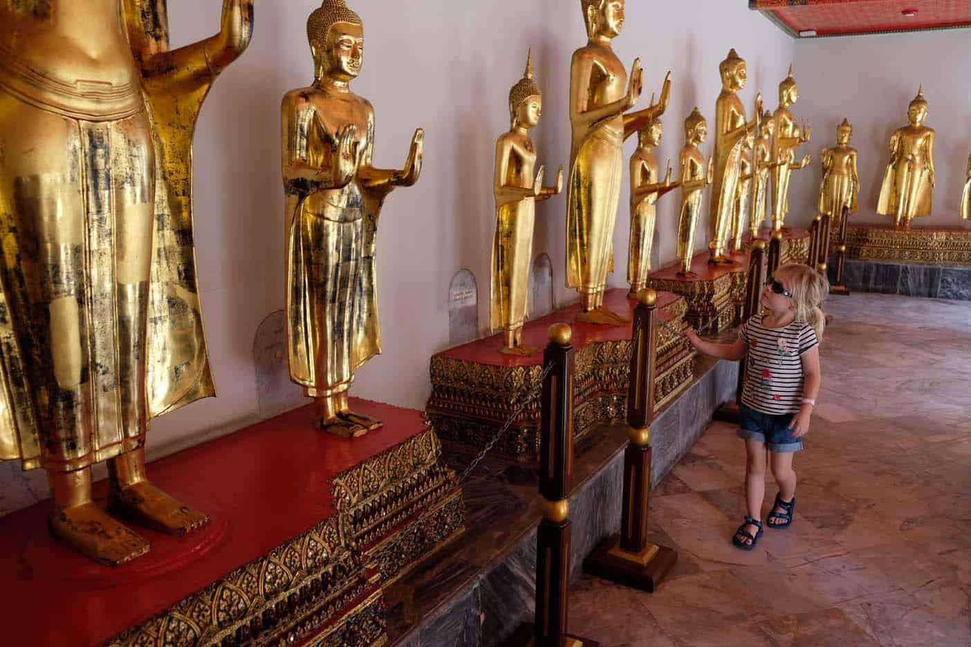 Wat Pho met kind
