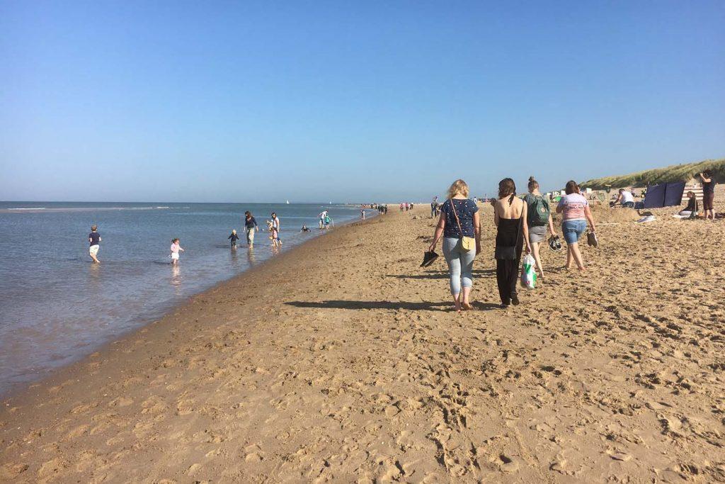 goedkoop dagje weg met gezin strand zeeland