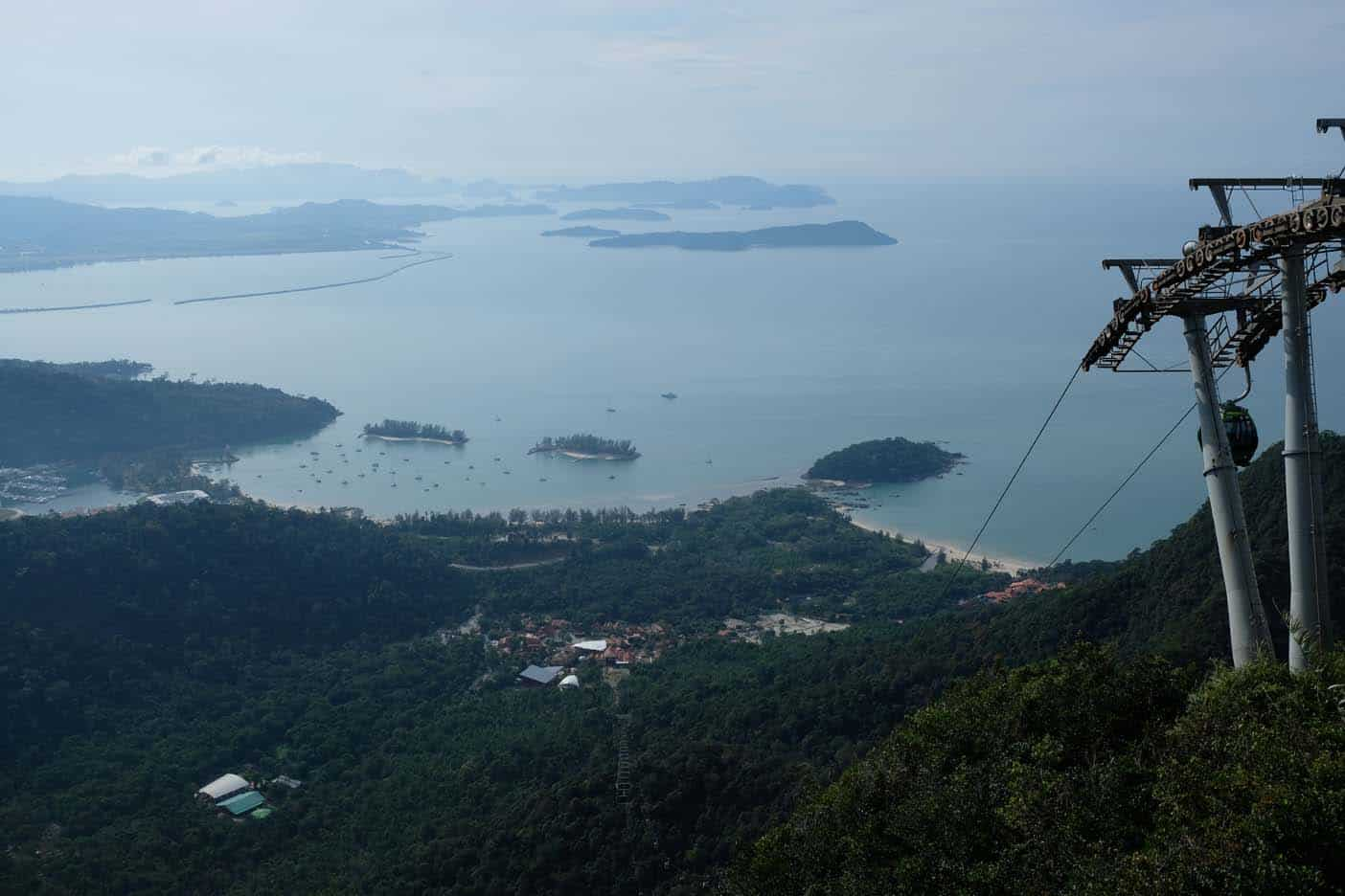 langkawi kabelbaan en skywalk