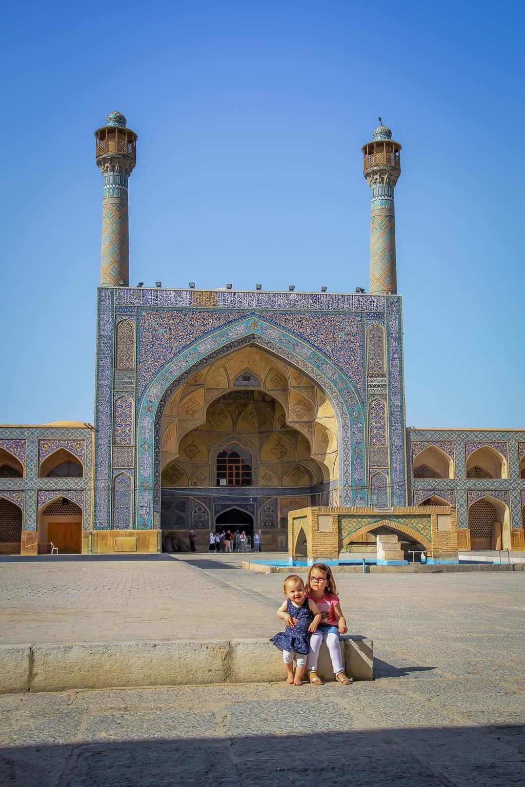 iran met kinderen