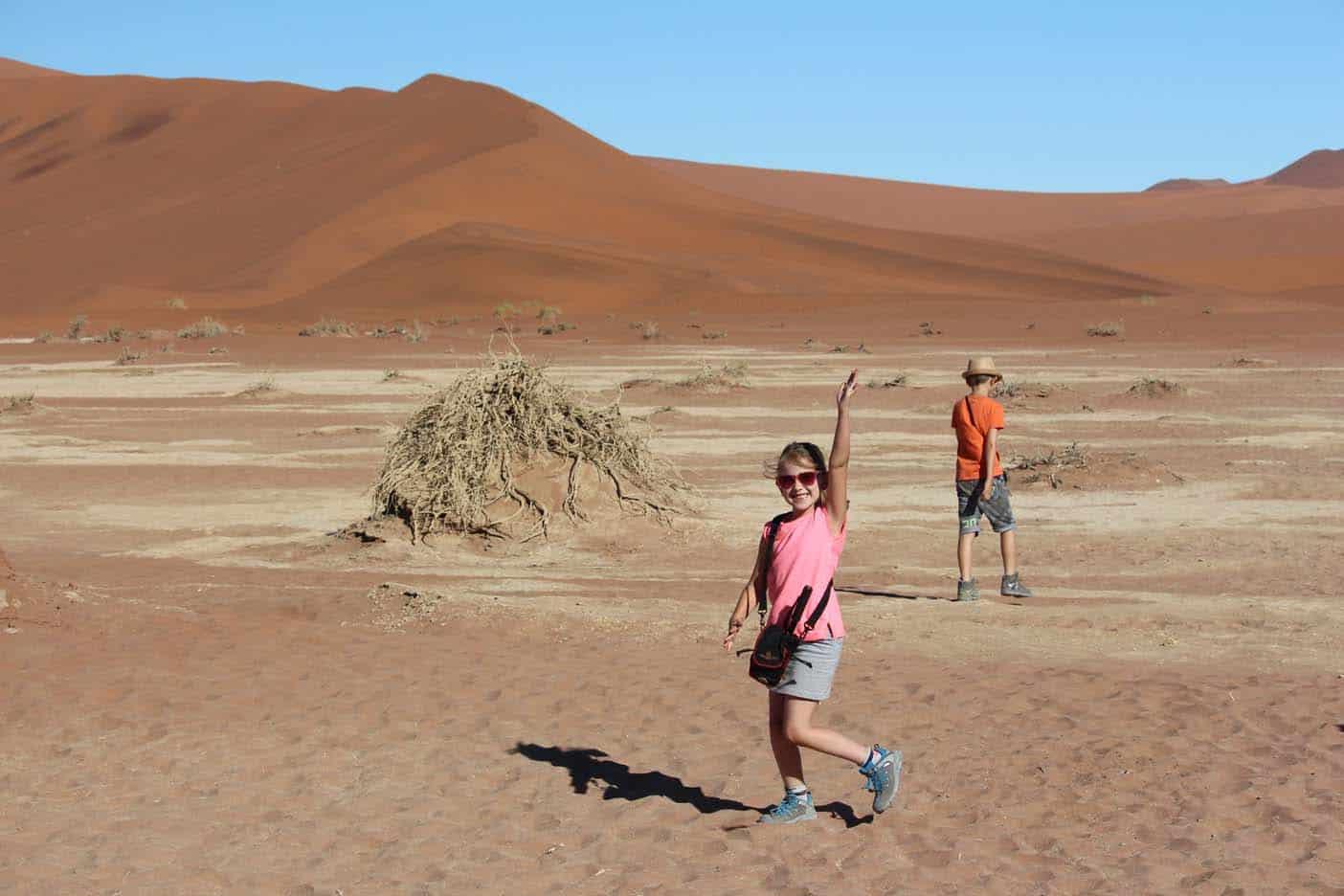 namibie met kinderen