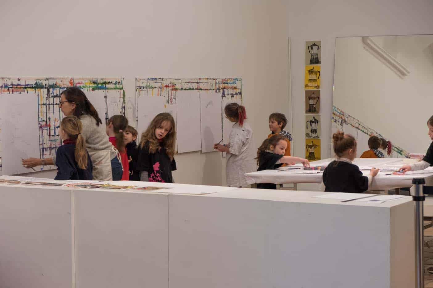 nice met kinderen museum Matisse
