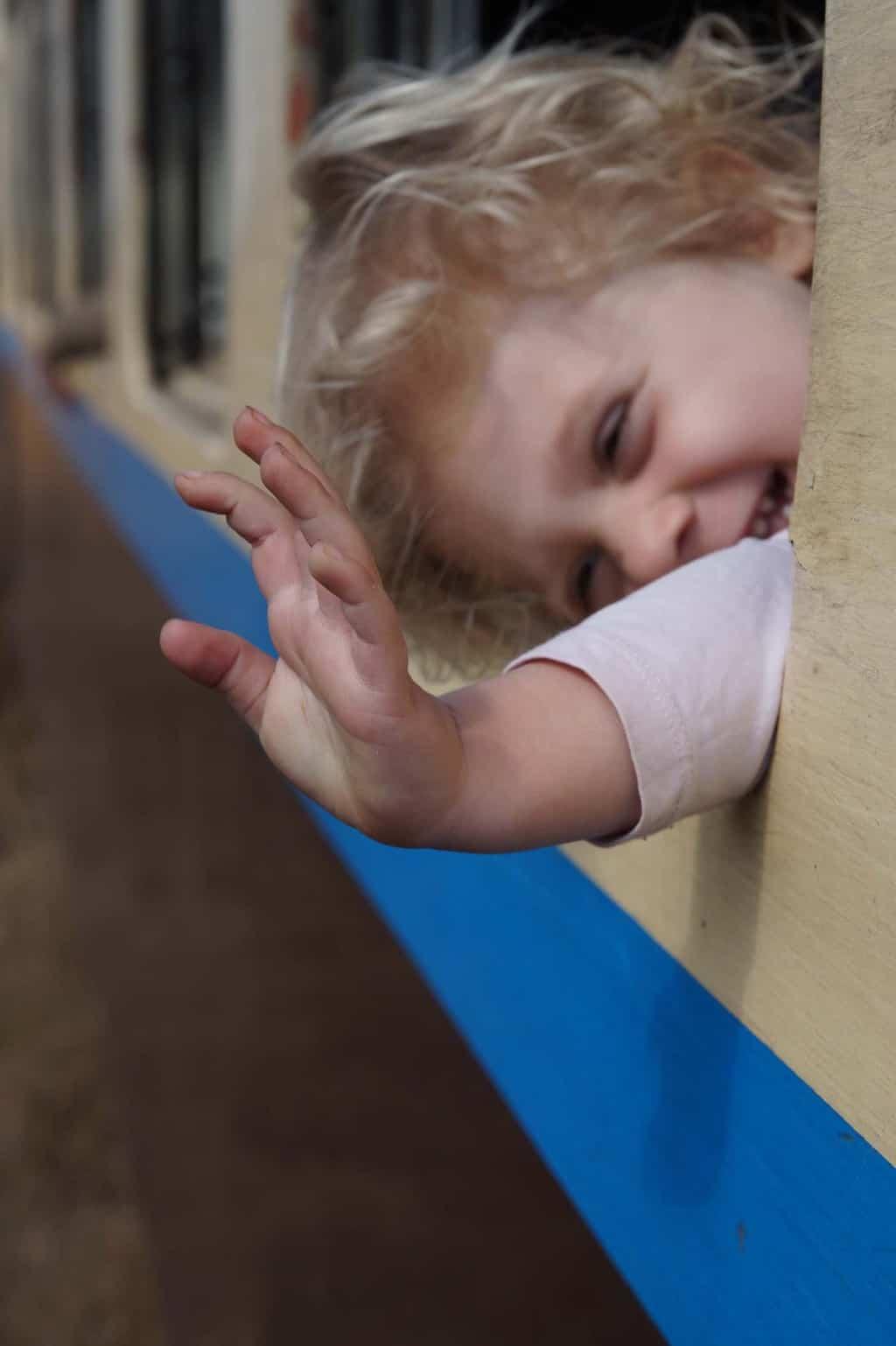 treinreizen met kind