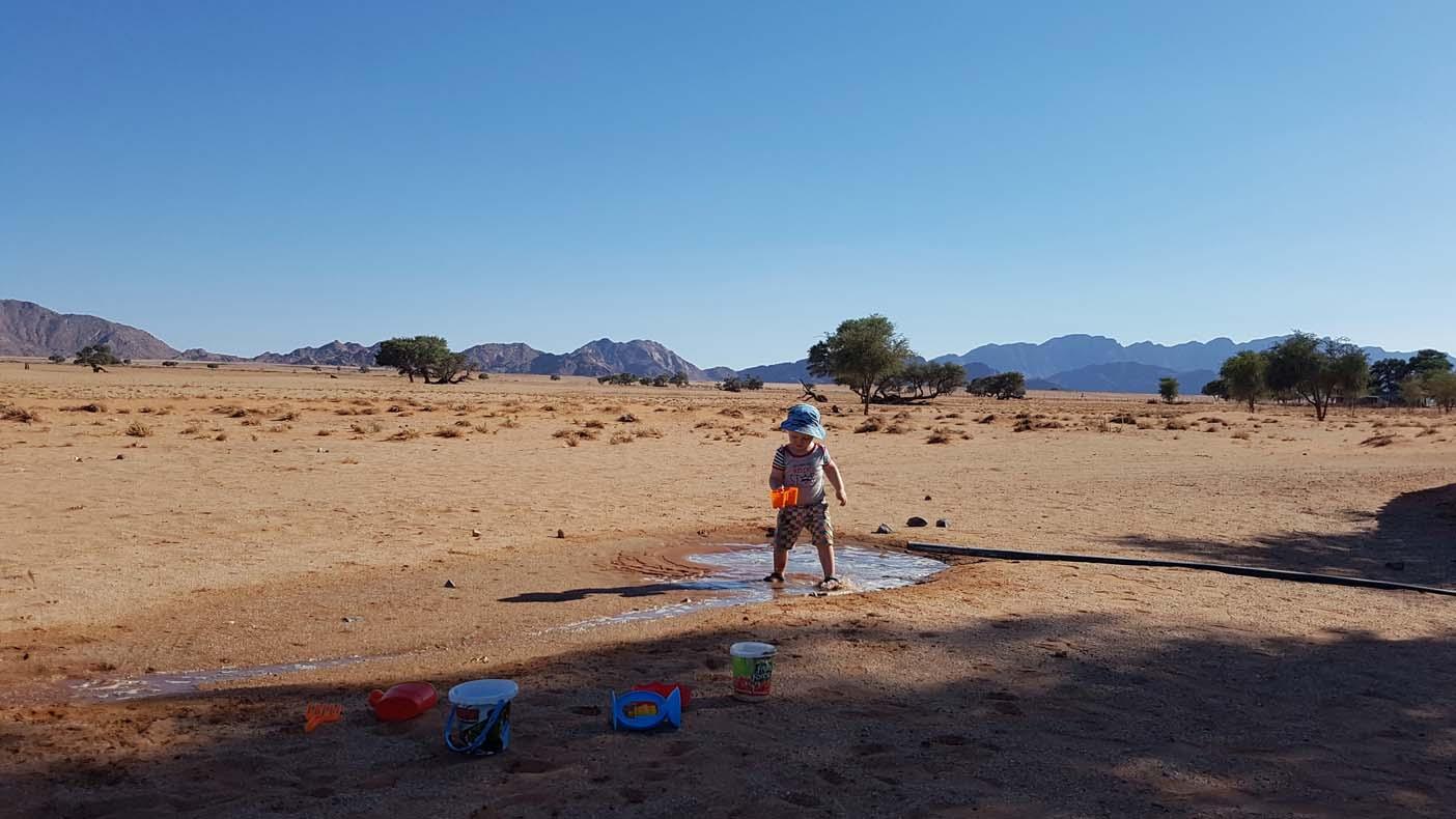 namibie met kids