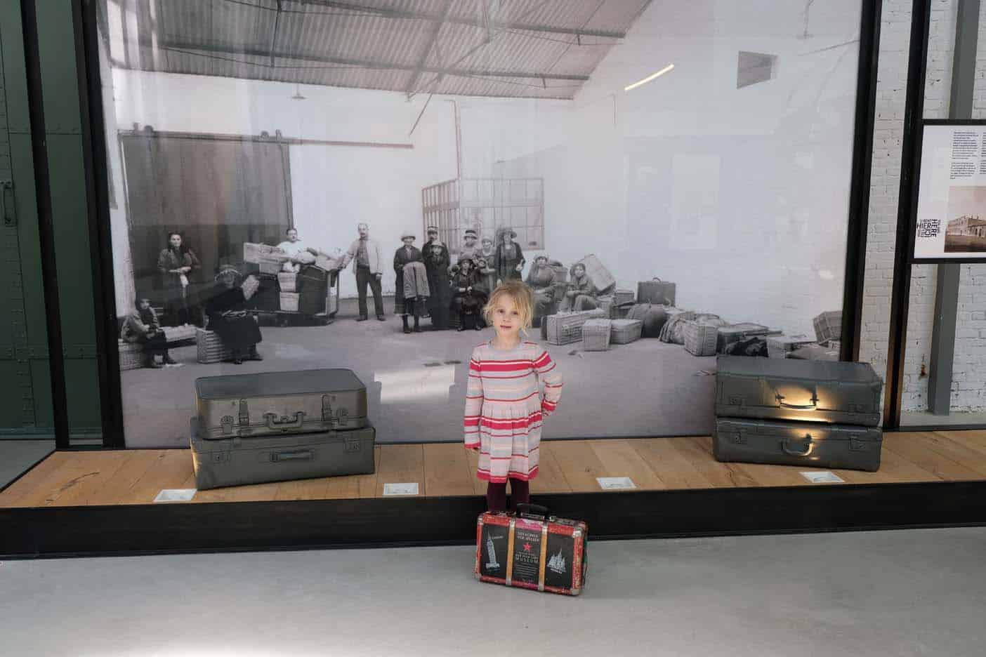Antwerpen met kinderen red star line museum