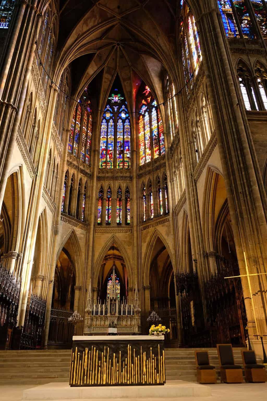 De kathedraal van Metz