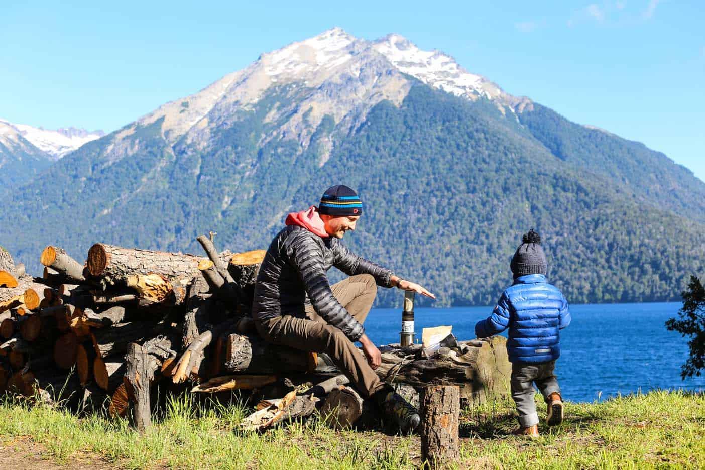 patagonie met kinderen