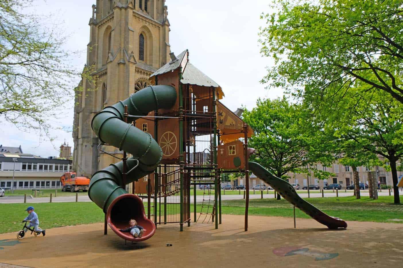 Speeltuintjes in Metz