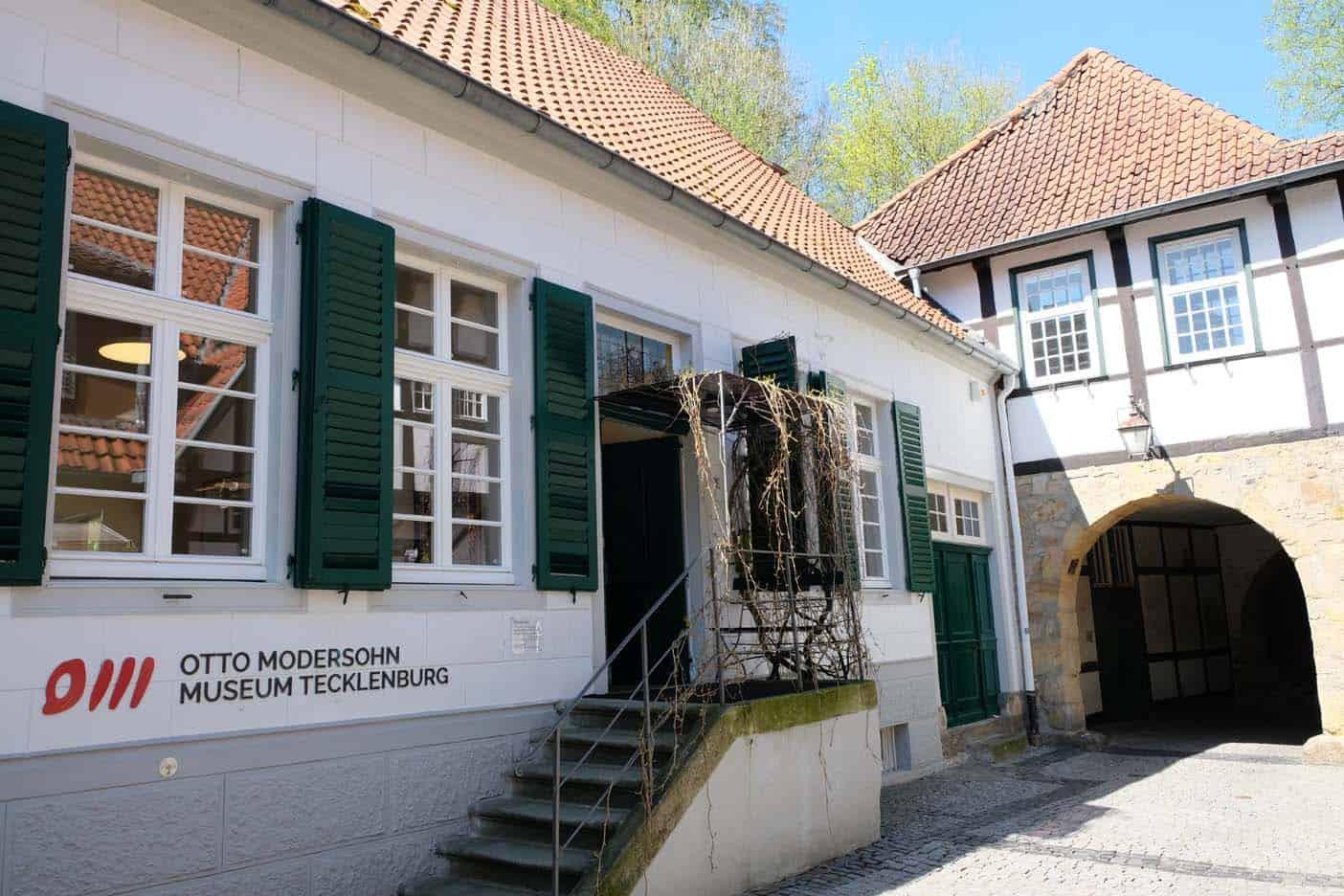 Otto Modersohn museum Tecklenburg