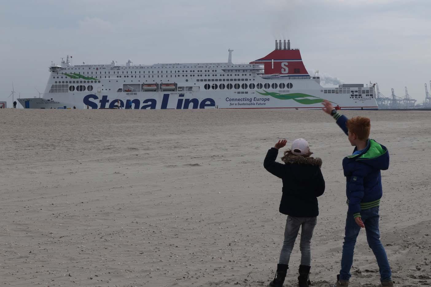 Met de boot naar engeland Stenaline