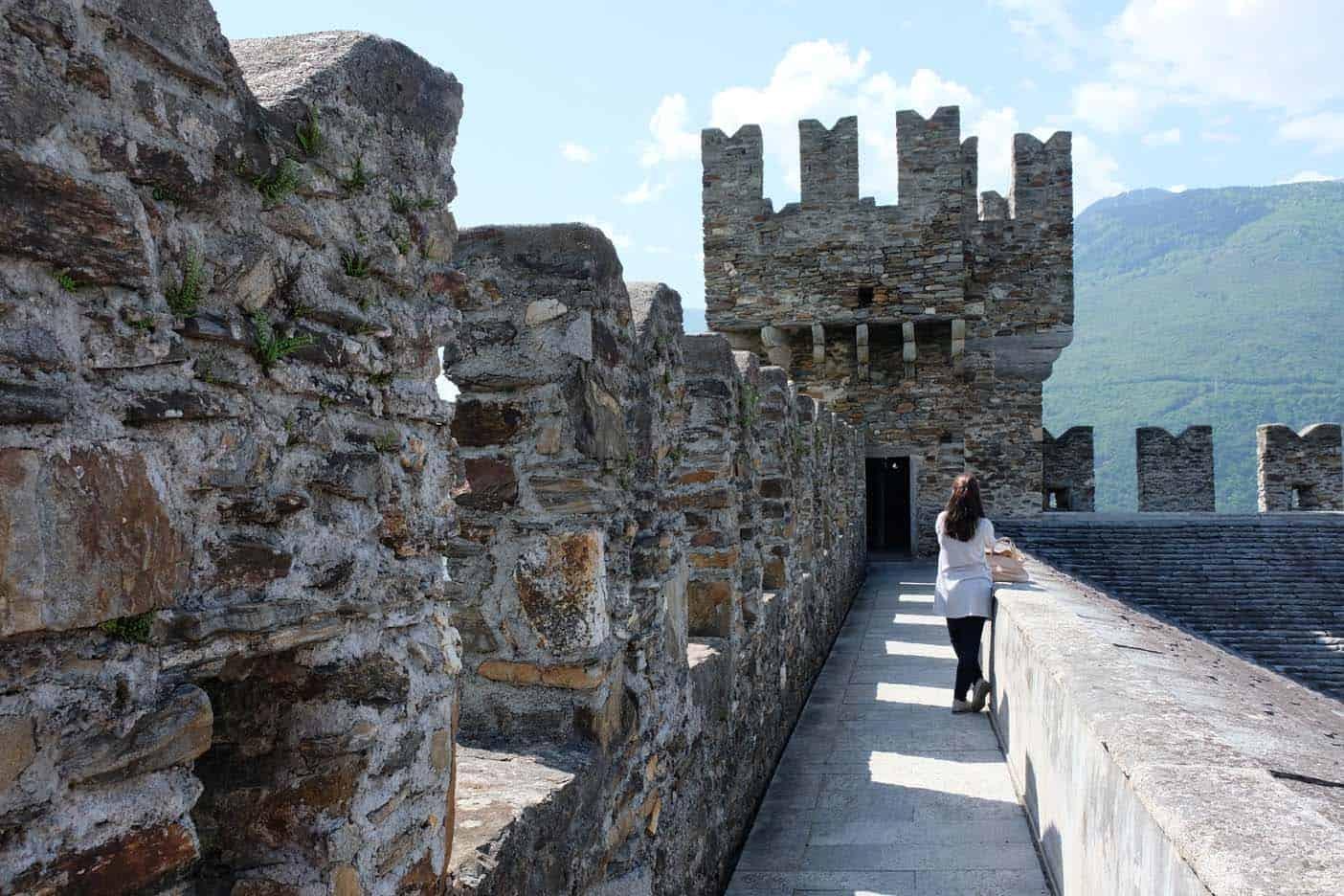 Sasso Carbora kasteel