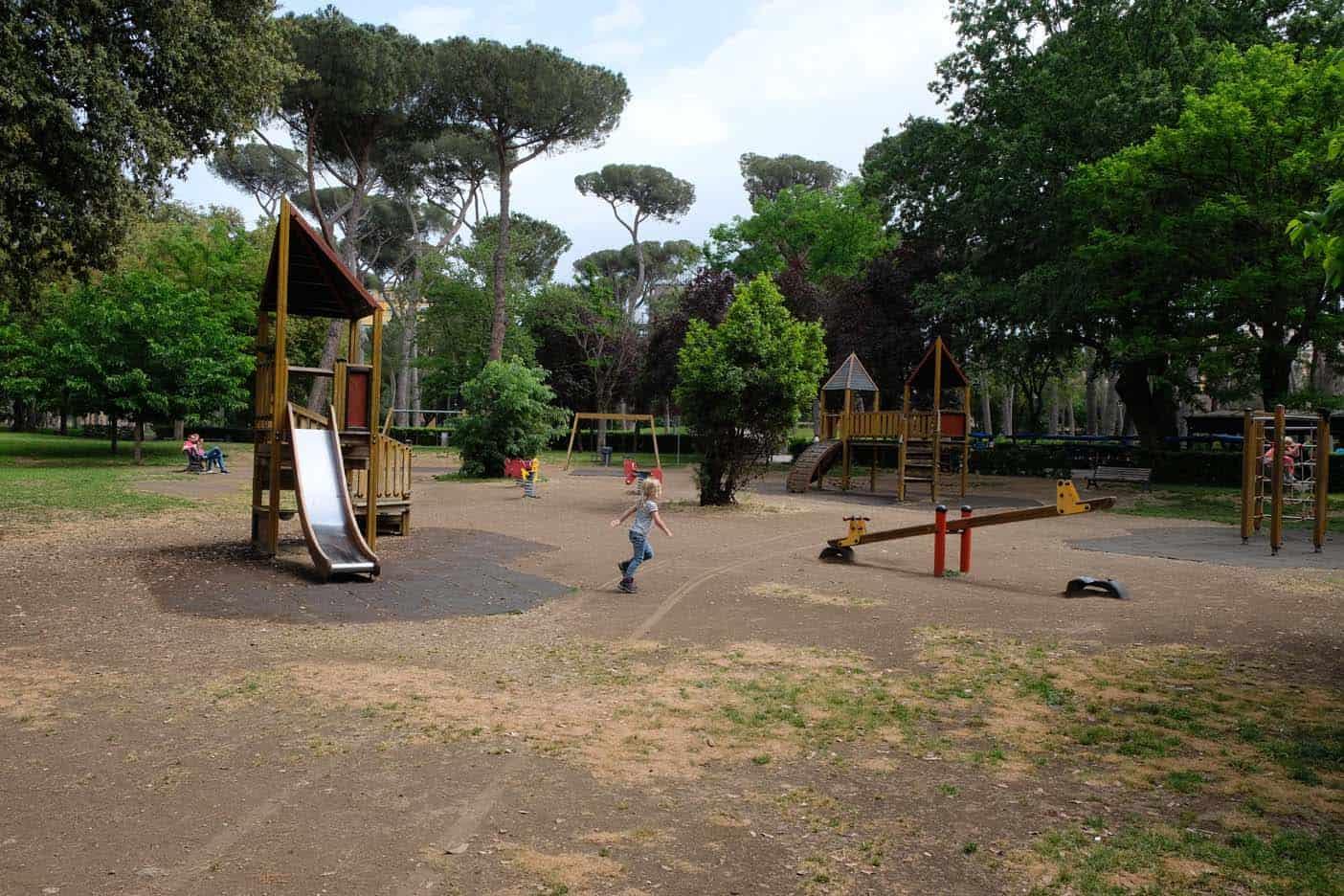 rome met kinderen villa borghese