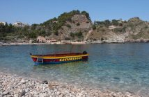Taormina strand