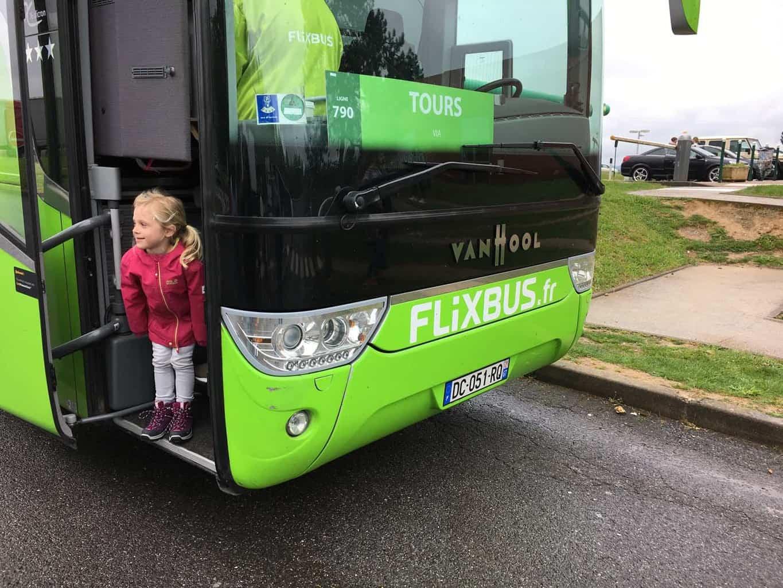 flixbus met kinderen
