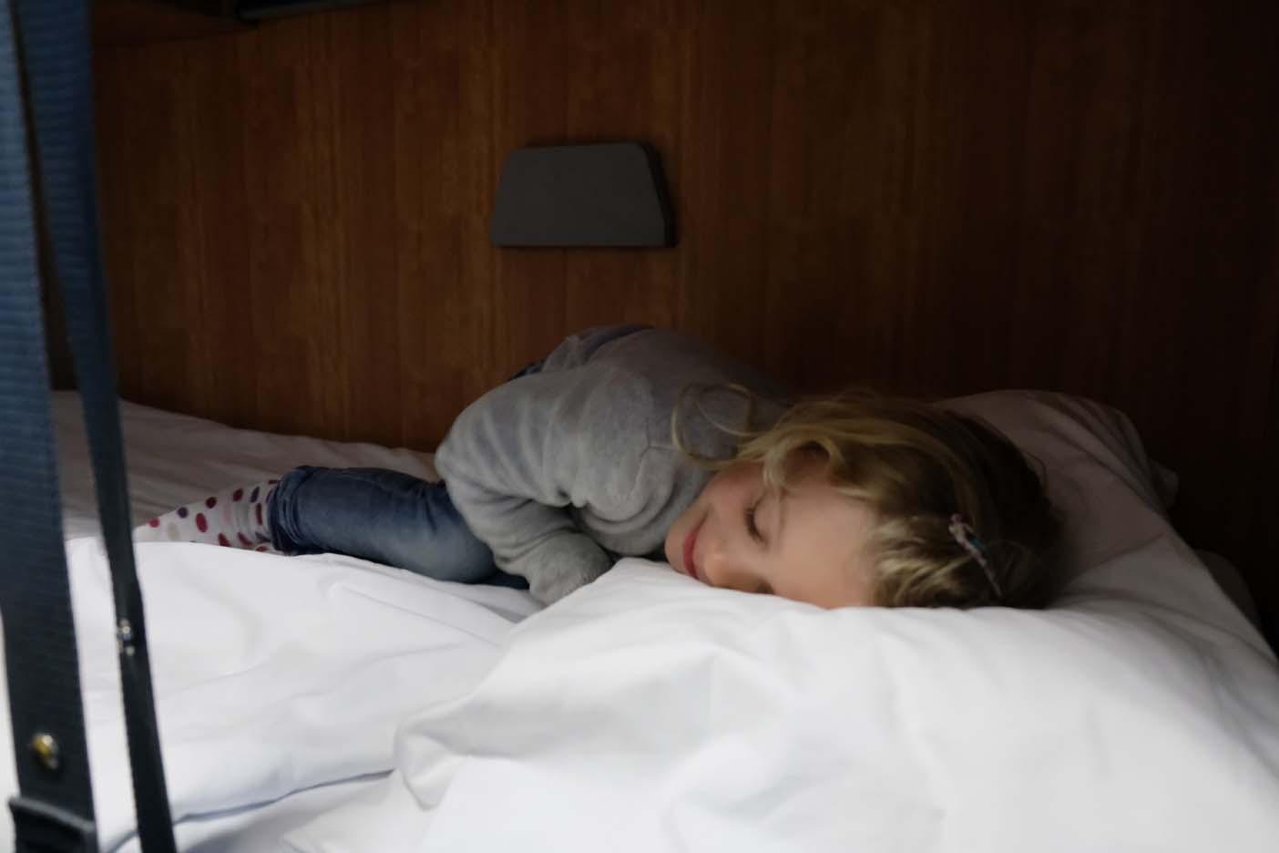interrailen nachttrein met kinderen