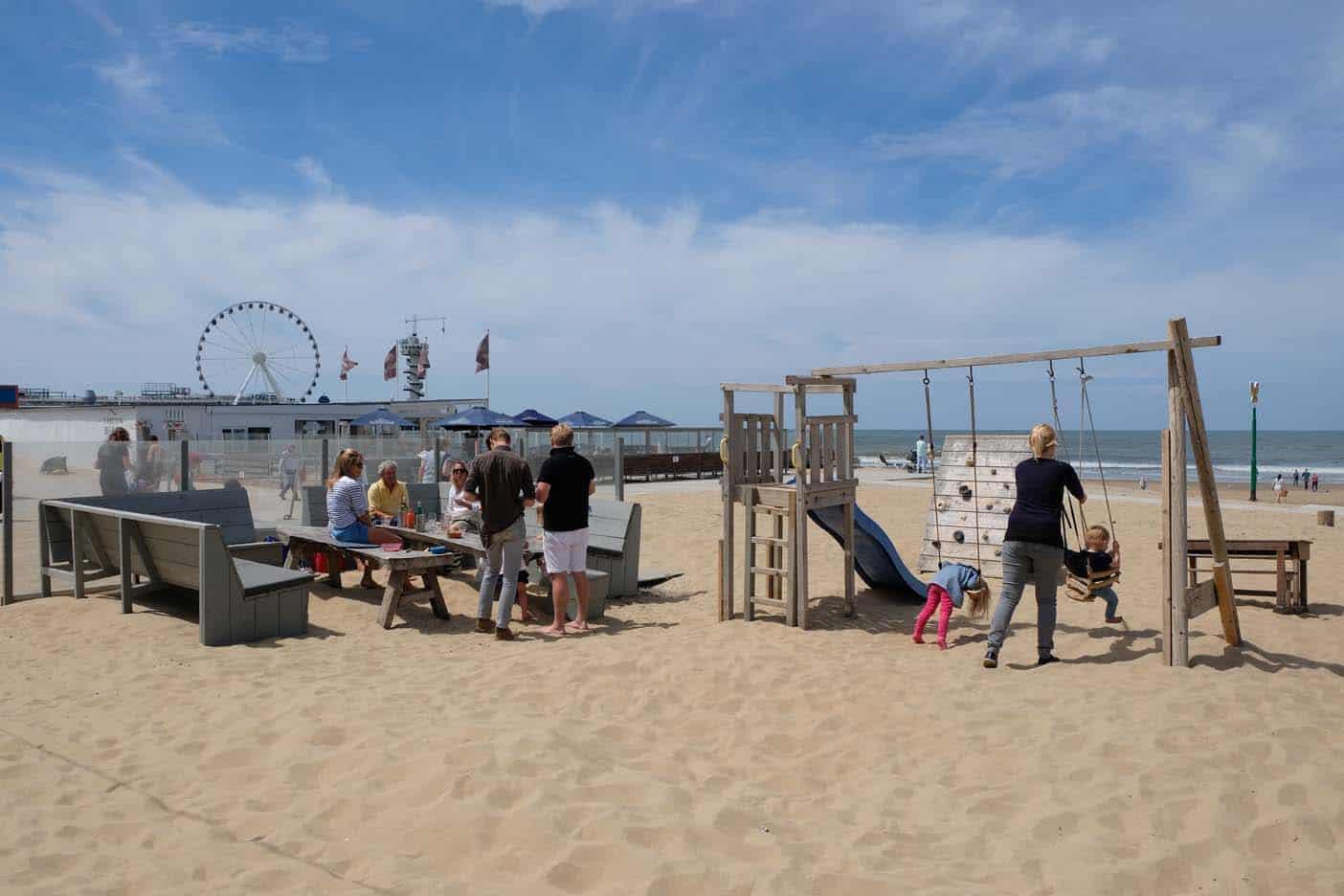 scheveningen strandtent kindvriendelijk