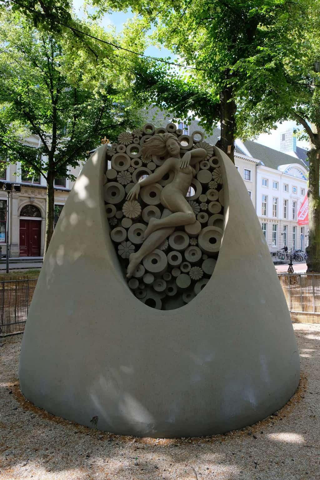 wk zandsculpturen den haag