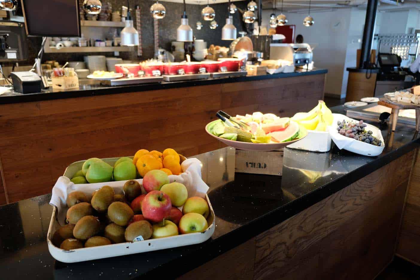 SS Rotterdam ontbijt buffet