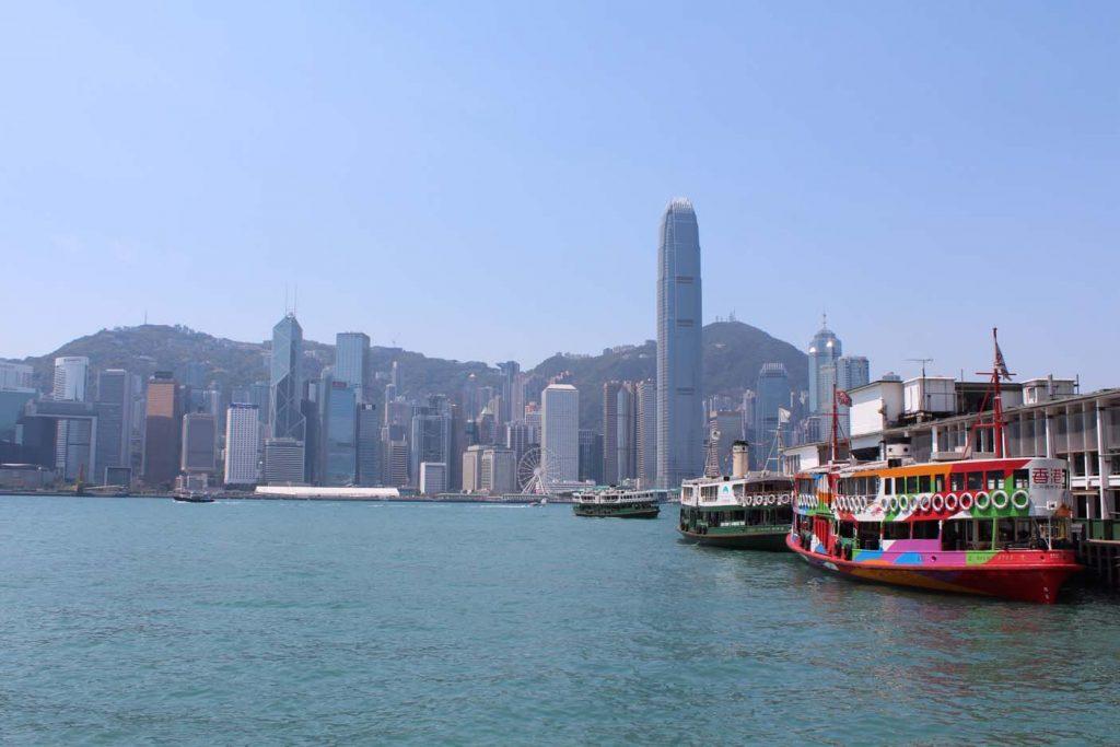 Hong Kong met kinderen