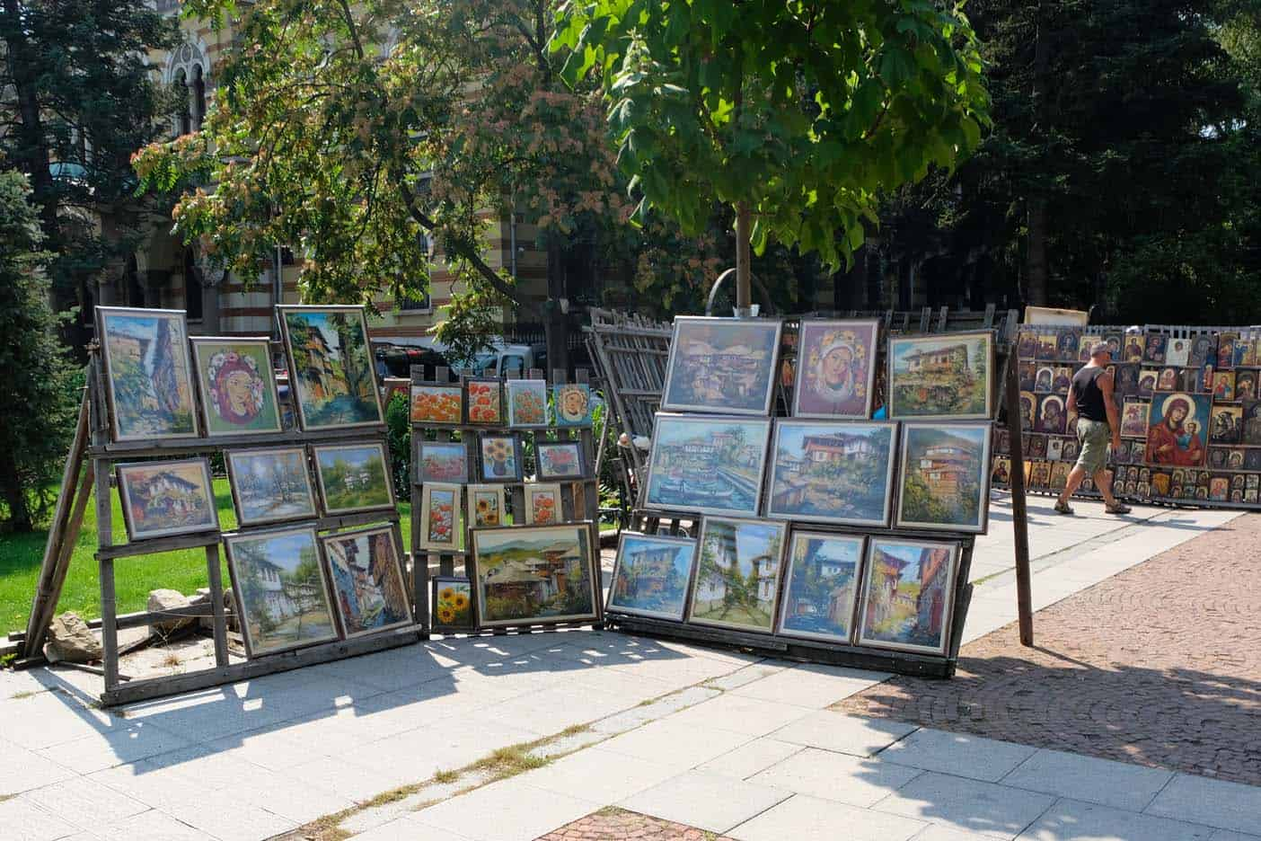 Sofia bezienswaardigheden Alexander NevskiKathedraal