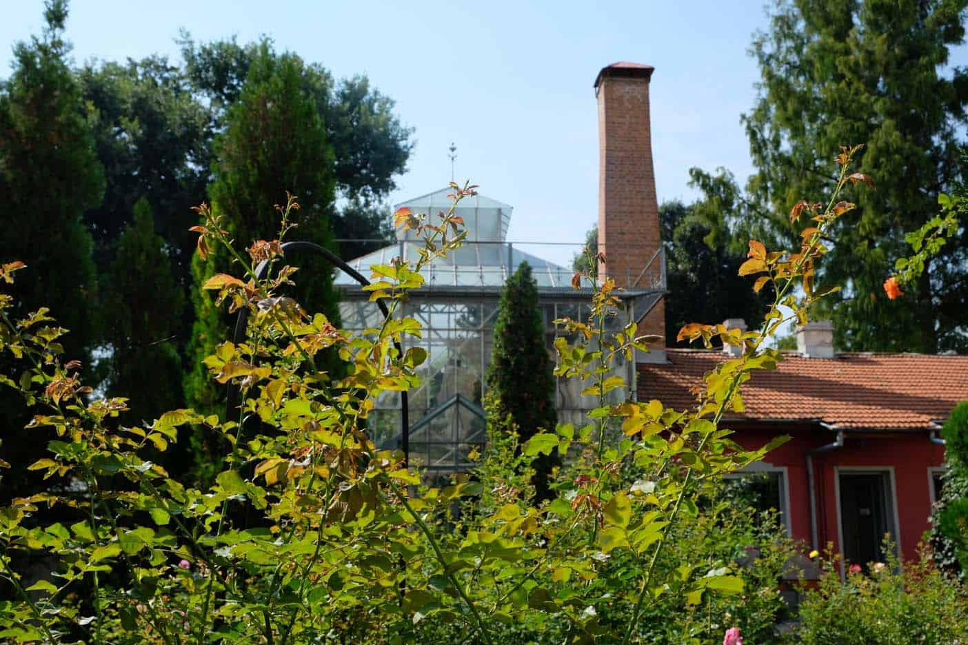 botanische tuin sofia