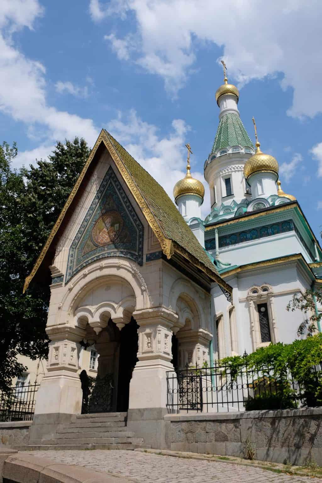 Russisch orthodoxe kerk SvetiNikolay Mirlikiiski