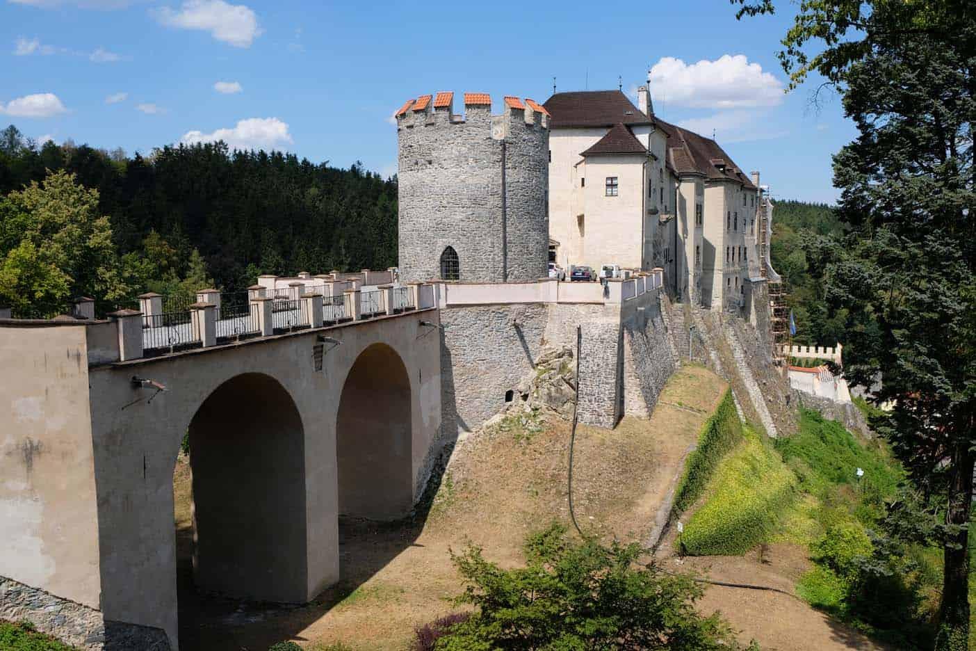 midden bohemen kasteel Český Šternberk