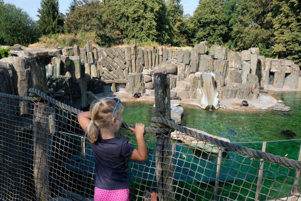 Praag met kinderen dierentuin