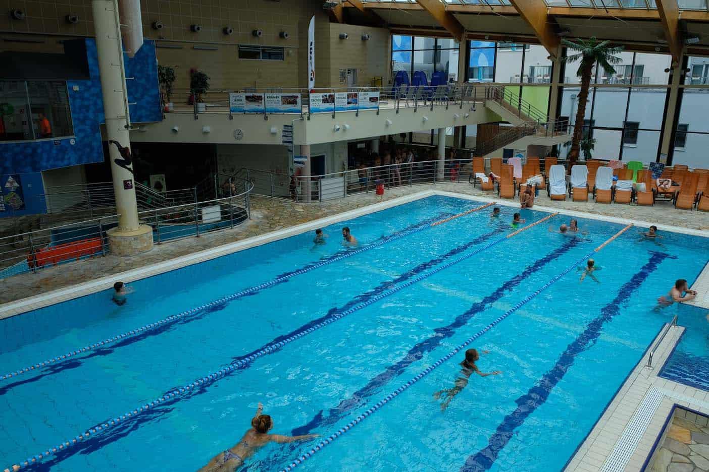 Waterpark praag tsjechie