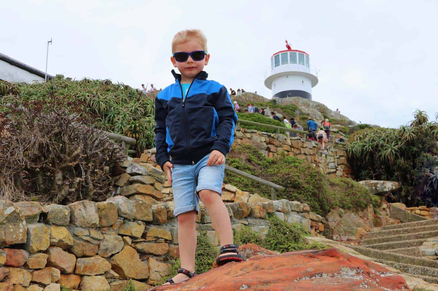 Cape Point met kinderen