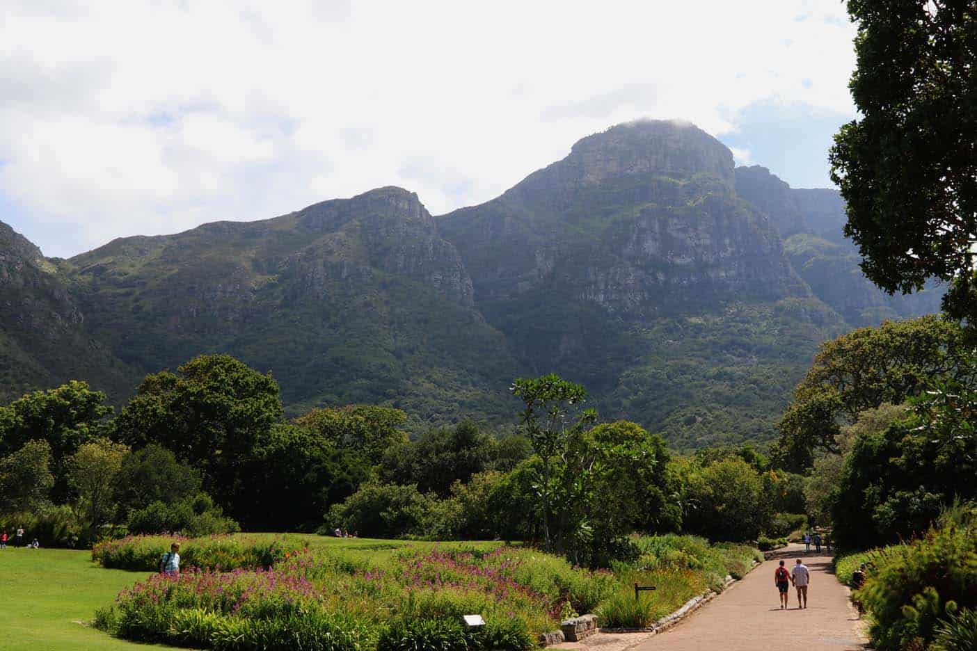 Kirstenbosch Botanical Gardens kaapstad met kinderen
