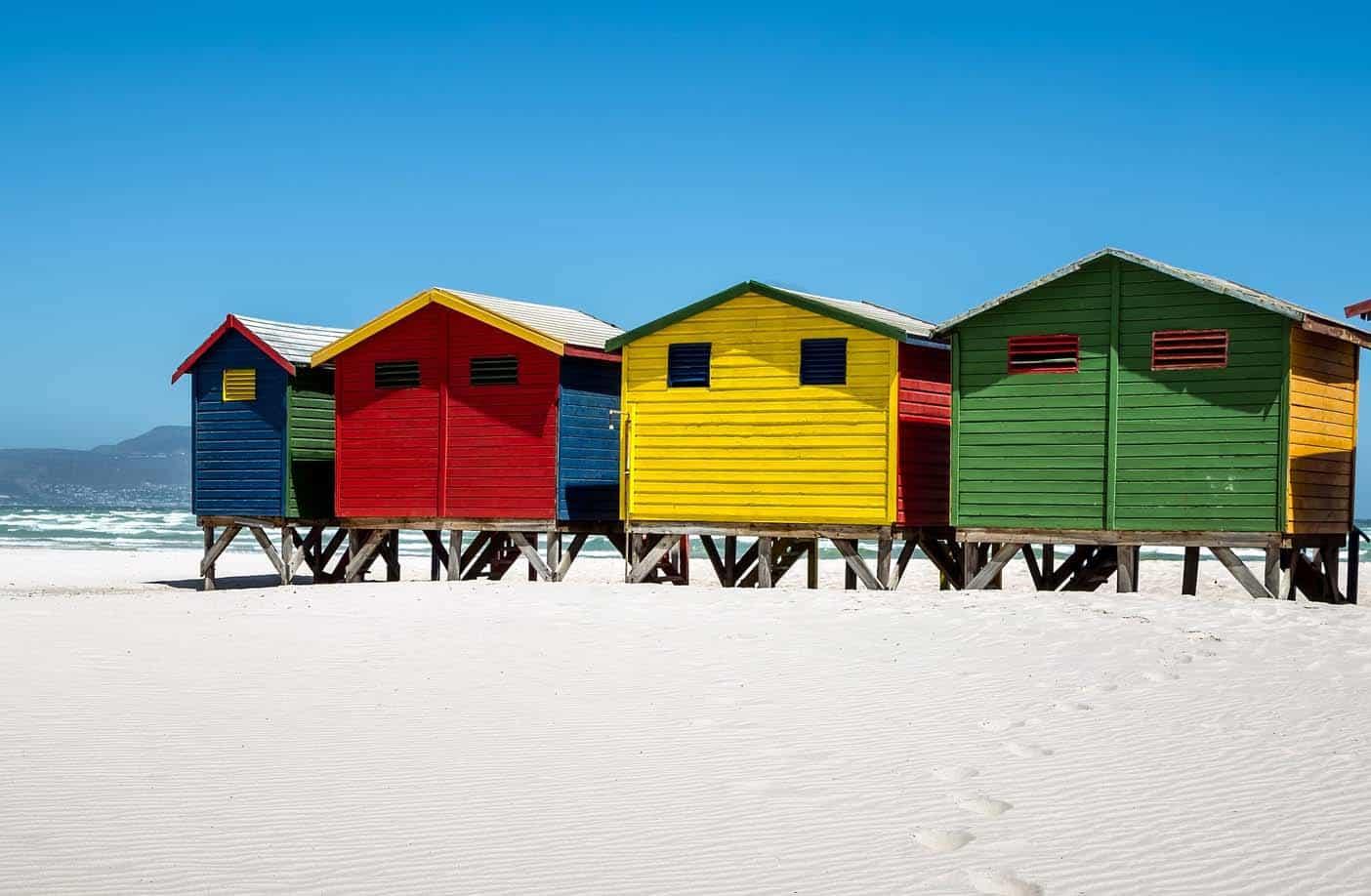 kindvriendelijk stranden kaapstad