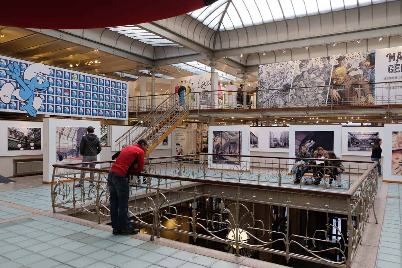 Brussel stripmuseum