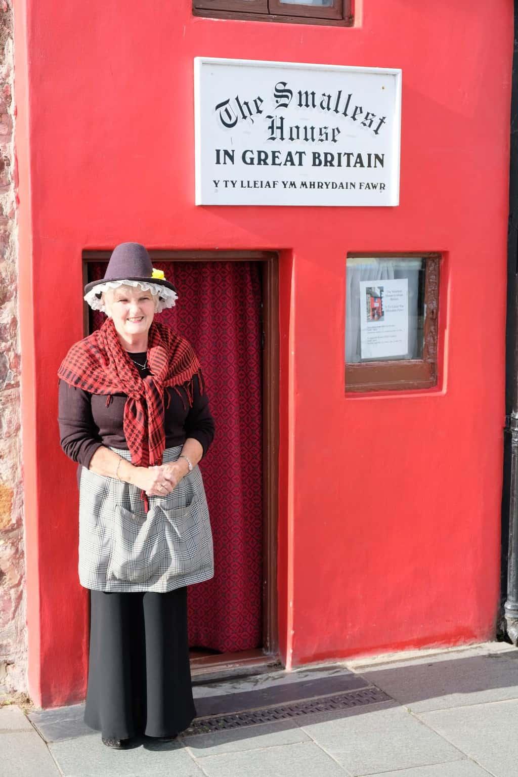 Het kleinste huis inGroot-Brittannië.