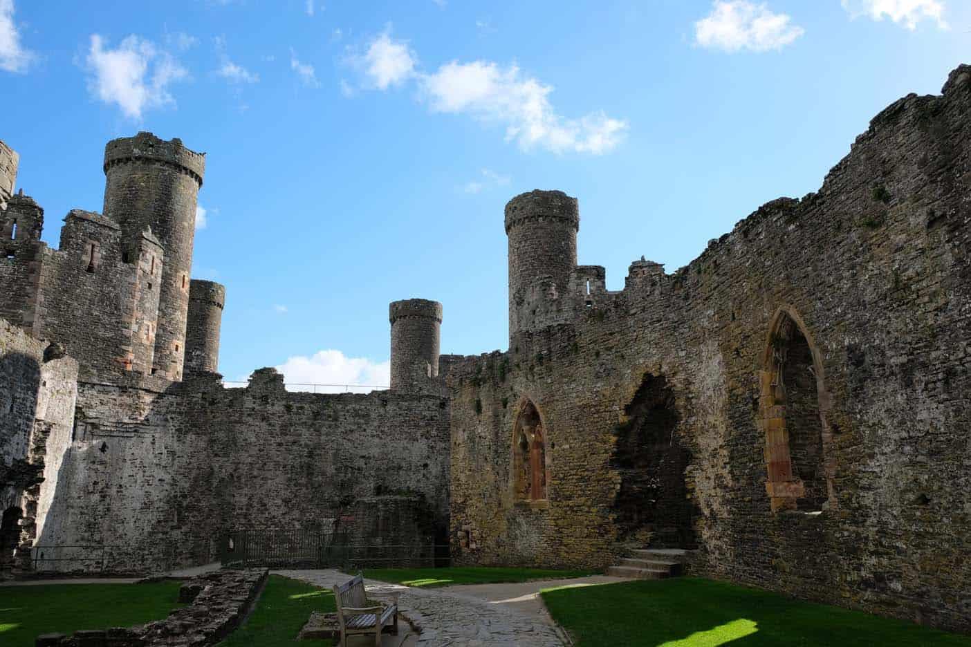 Conwy kasteel wales
