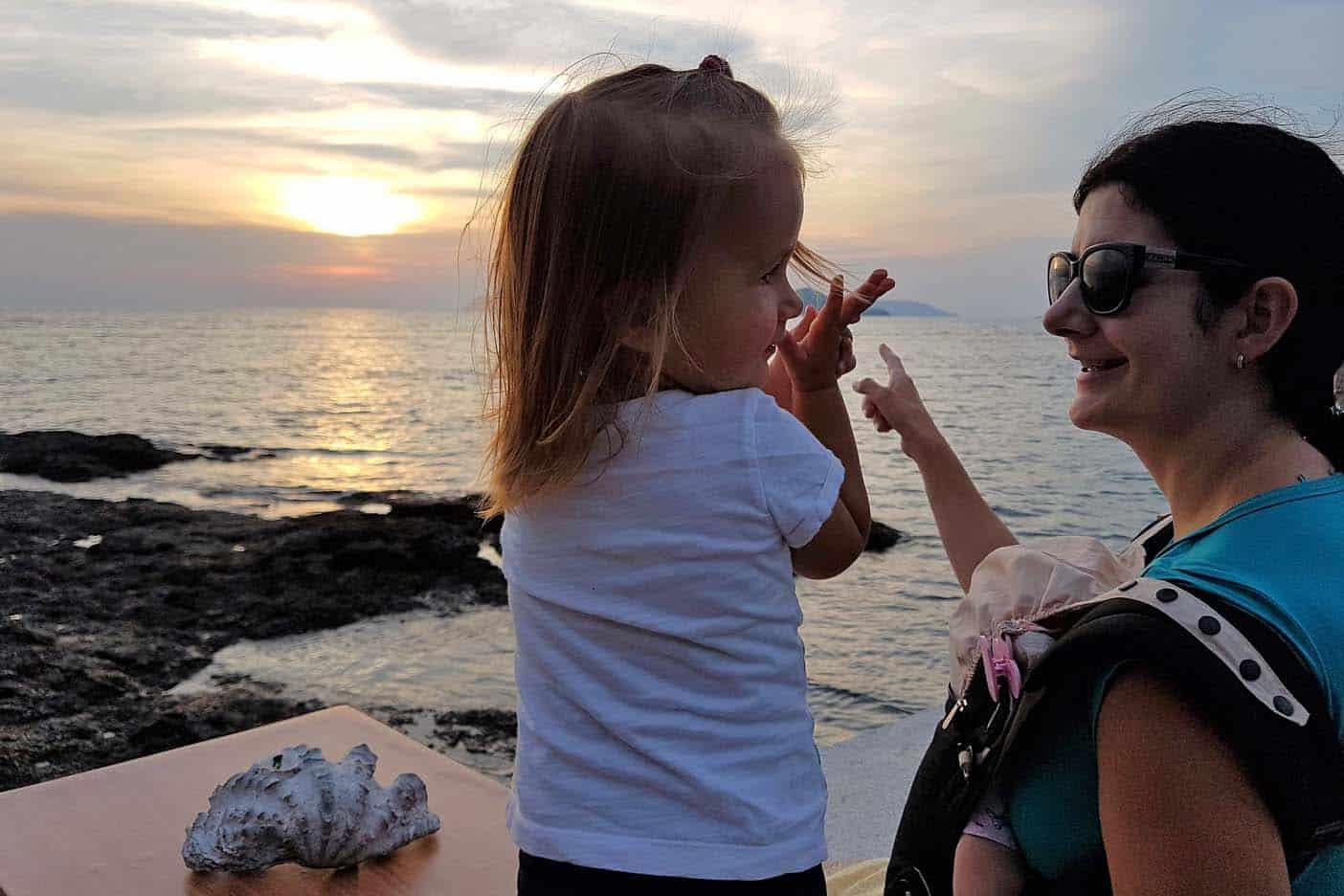 Koh Mak met kinderen
