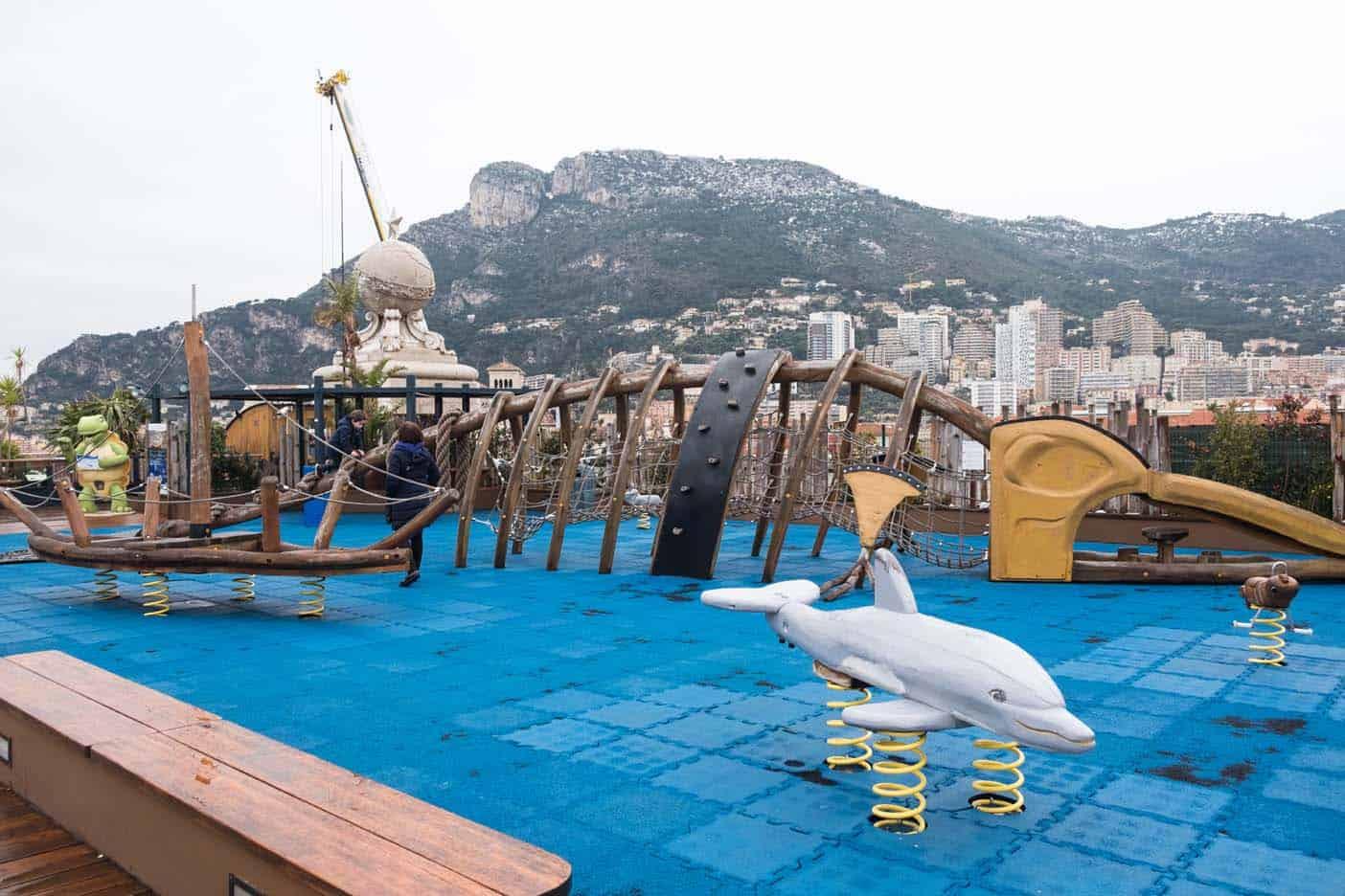 Speeltuin in Monaco