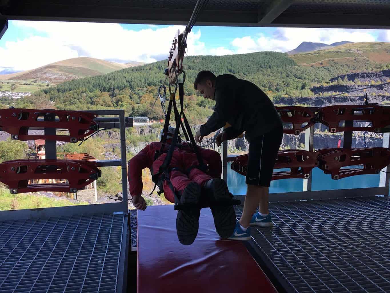 snelste zipline ter wereld