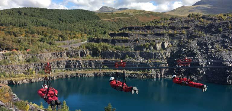 snelste zipline ter wereld wales