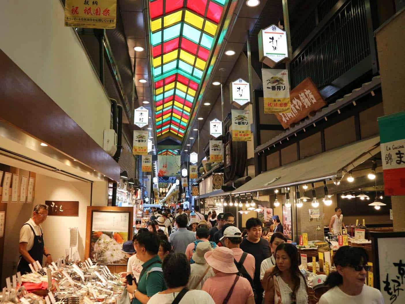 Winkelen in Kyoto met kids