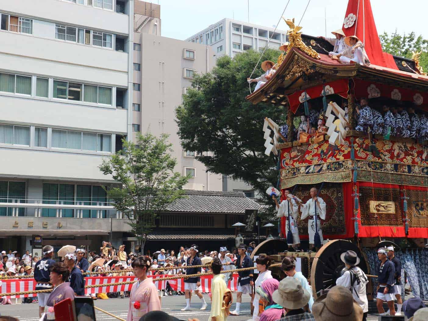 Bezoek een festival in Kyoto