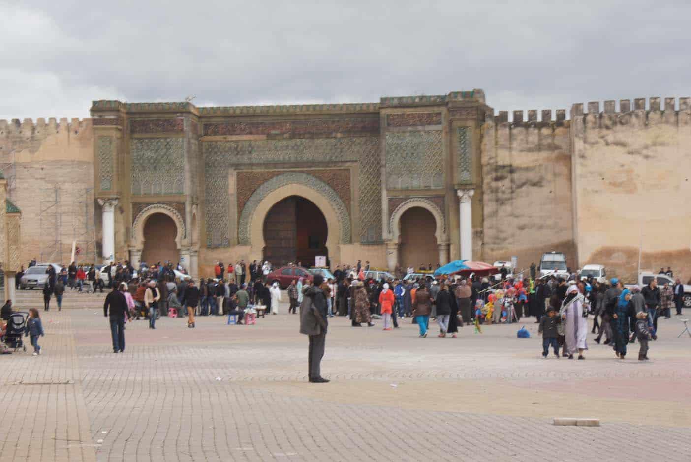 Fes naar Meknes, Moulay Idriss en Volubilis