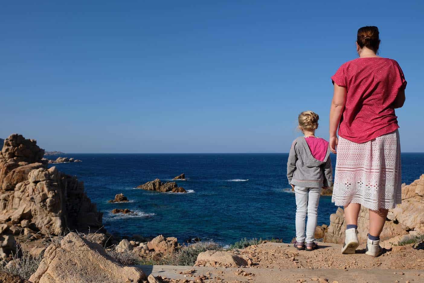 Sardinie met kinderen