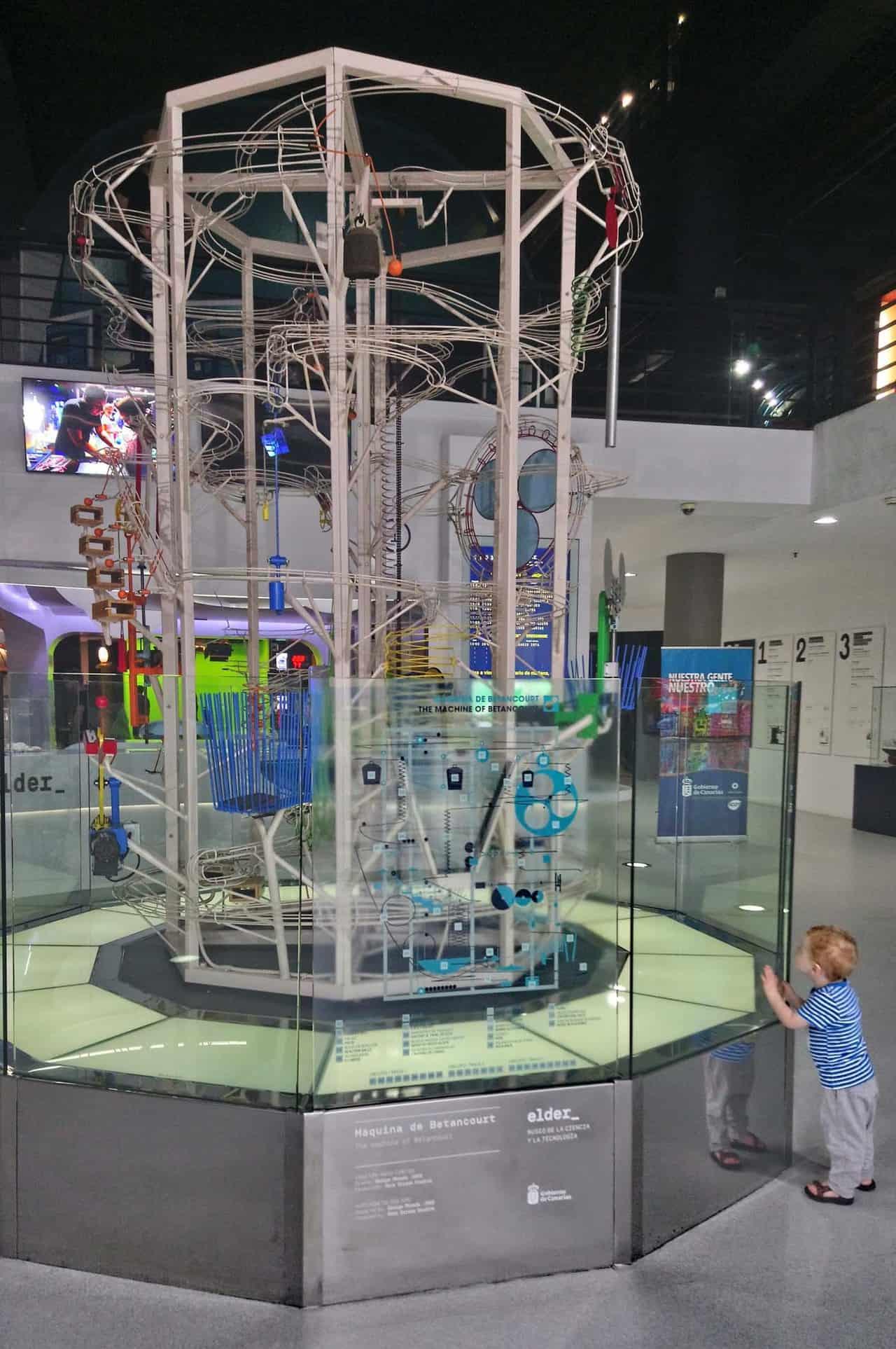 gran canaria met kinderen science museum
