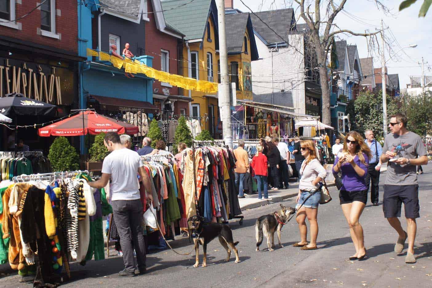 Toronto Kensignton market