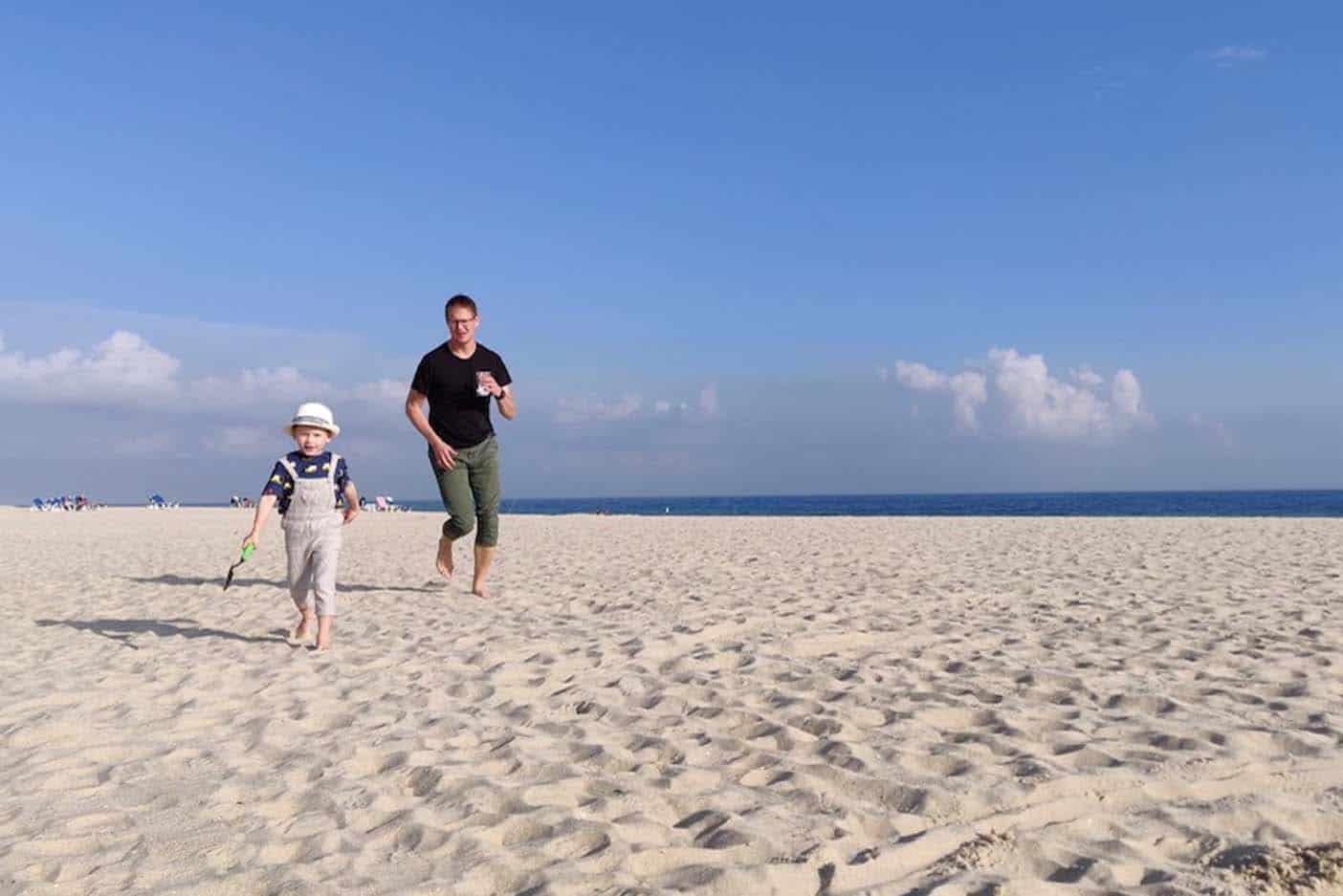 Algarve met kinderen Barril Beach 2
