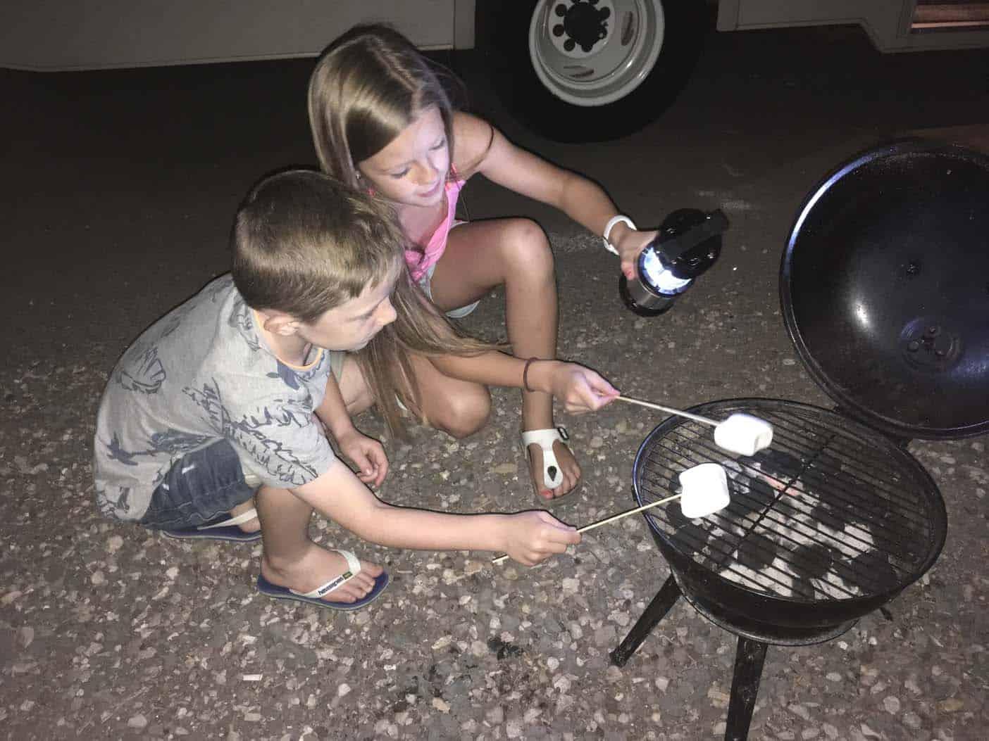 camperreis amerika met kinderen