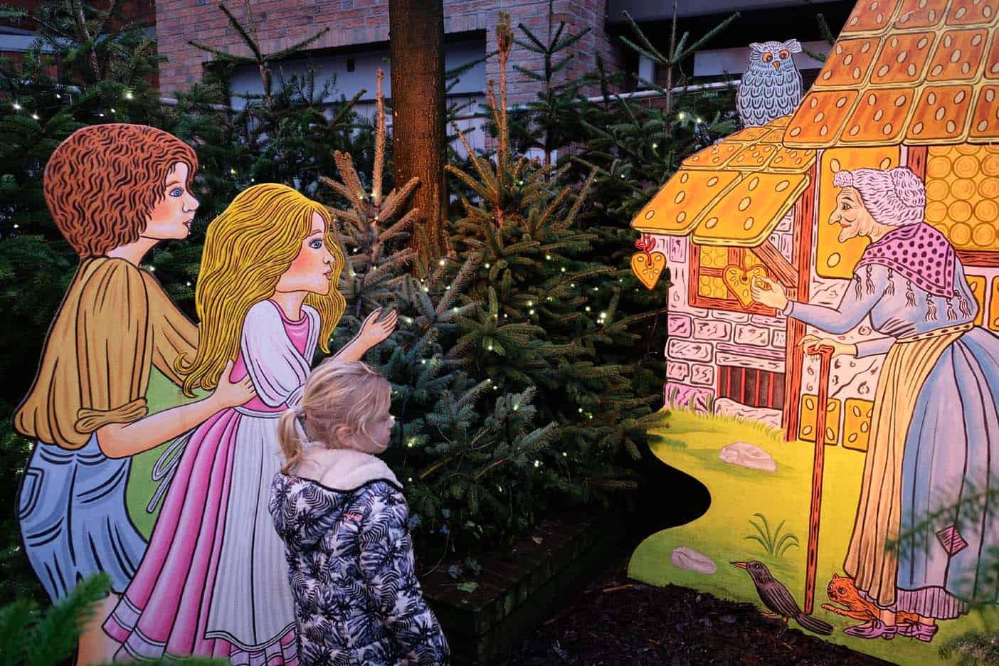 Kerstmarkt Nordhorn sprookjesbos
