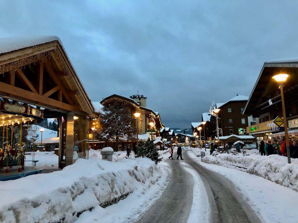 les gets skigebied